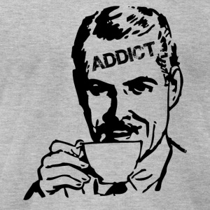 Coffee Addict - Men's T-Shirt by American Apparel