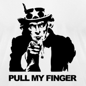 Pull my finger - Men's T-Shirt by American Apparel
