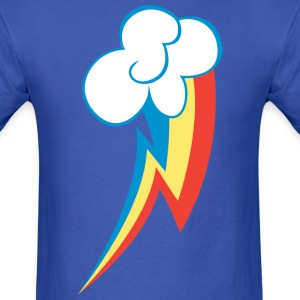 Rainbow's Cutie Mark Shirt - Men's T-Shirt