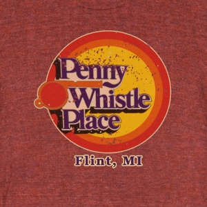 Penny Whistle Place T-Shirts - Unisex Tri-Blend T-Shirt by American Apparel