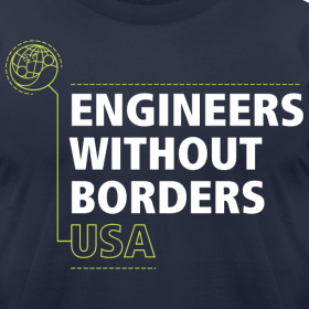 Design ~ EWB USA Men's T-Shirt