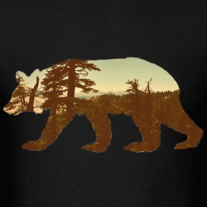 mountain bear tee T-Shirts - Men's T-Shirt