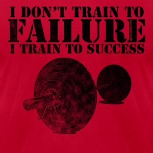I Train To Success - Men's T-Shirt by American Apparel