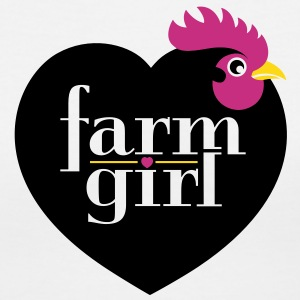 Farm girl Women's T-Shirts - Women's V-Neck T-Shirt