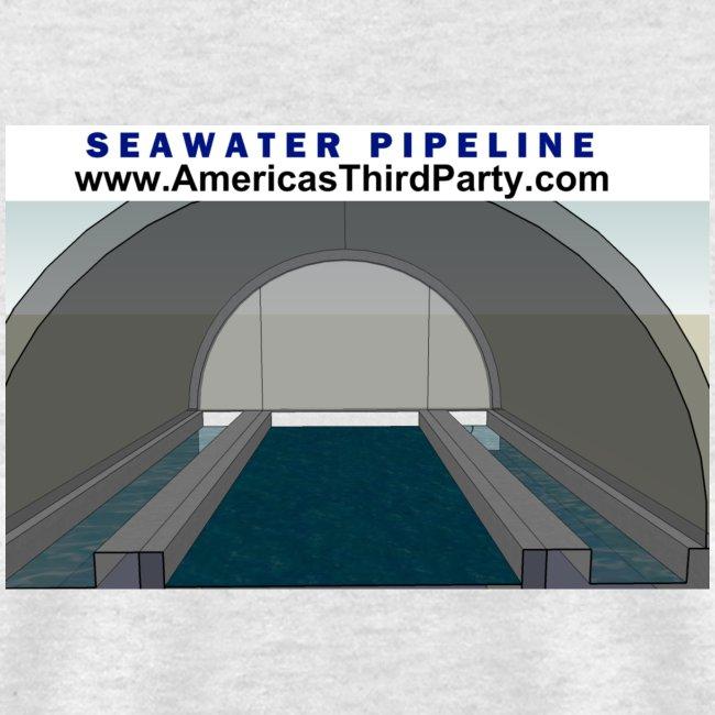 SEAWATER PIPELINE TEE
