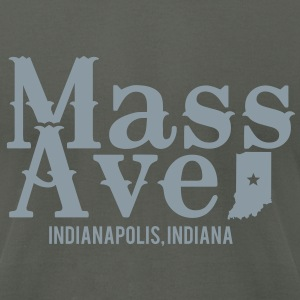 Mass Ave - Men's T-Shirt by American Apparel