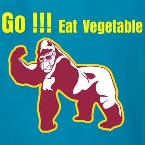 Eat Vegetable - Kids' T-Shirt