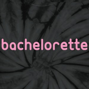 Bachelorette Tee Shirt Graphic in Pink T-Shirts - Unisex Tie Dye T-Shirt