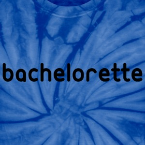 Bachelorette Tee Shirt Graphic in Black T-Shirts - Unisex Tie Dye T-Shirt