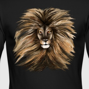 Big Cat - Men's Long Sleeve T-Shirt by Next Level