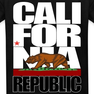 california republic Kids' Shirts - Kids' T-Shirt