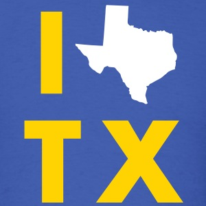I Love Texas - Men's T-Shirt