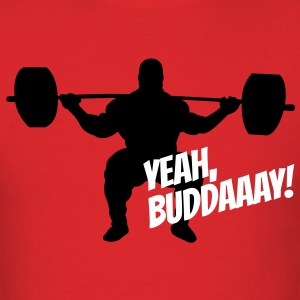Yeah, Buddaaay! (Red) - Men's T-Shirt
