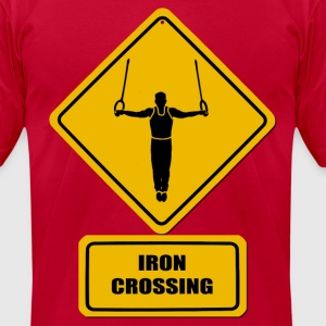 Iron Crossing - Men's T-Shirt by American Apparel