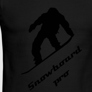 Snowboard pro shirt - Men's Ringer T-Shirt