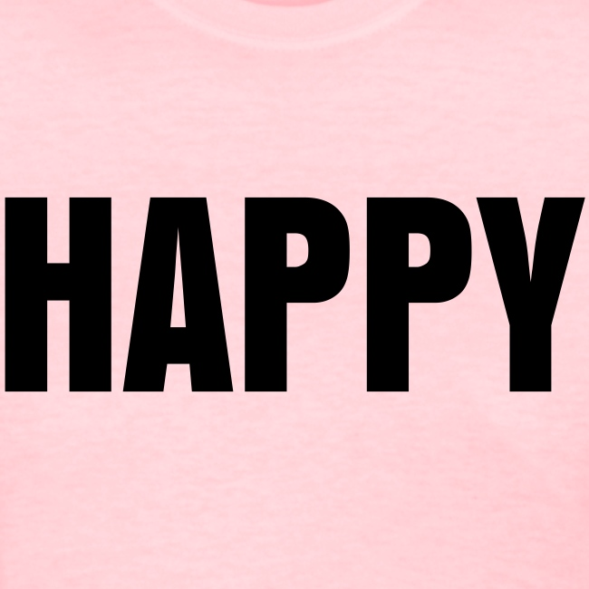 HAPPY T-shirt as worn by