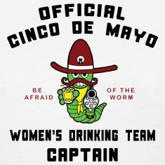 Cinco de Mayo Women's Drinking Team T-Shirt