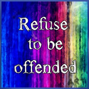 Refuse to be Offended T-Shirts - Men's T-Shirt