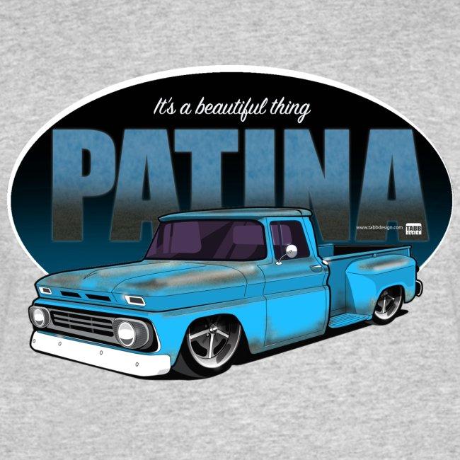 Patina Stepside BLUE PREMIUM ART Tee