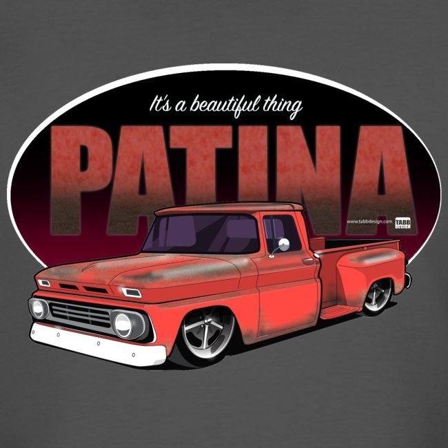 Patina Stepside RED PREMIUM ART Tee