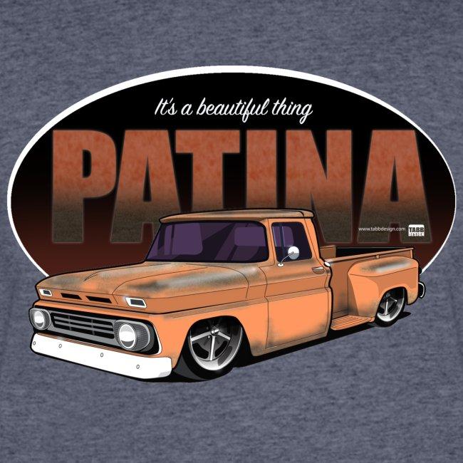 Patina Stepside ORANGE PREMIUM ART Tee