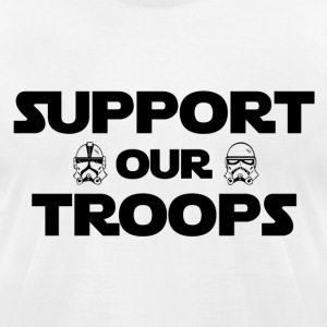 Support our troops - Men's T-Shirt by American Apparel