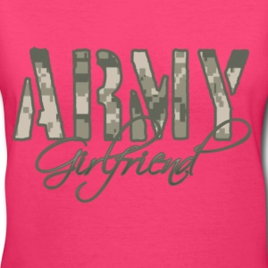 Army Girlfriend  - Women's V-Neck T-Shirt