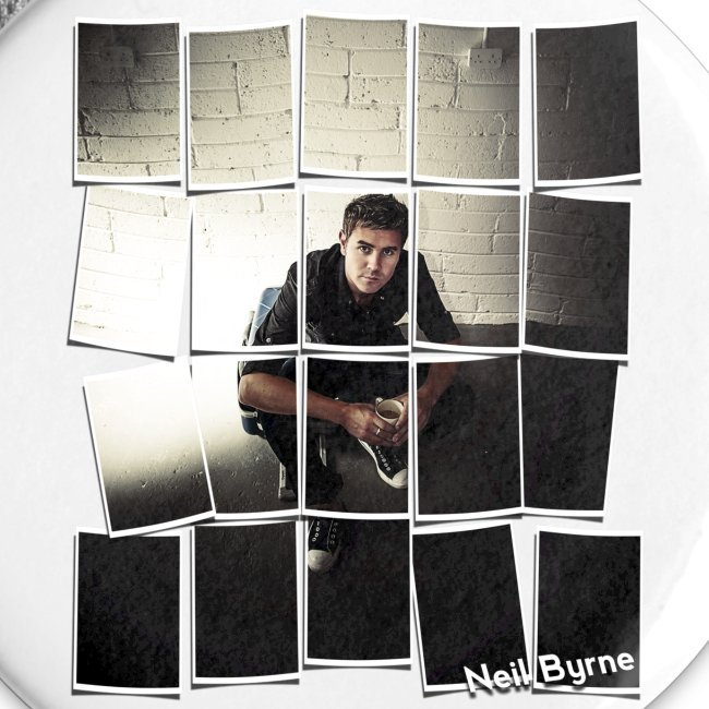 5 Pack Large Buttons - Neil Byrne - Cards Design