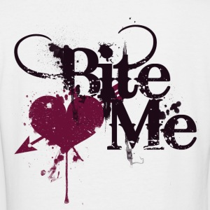 Bite ME - Women's V-Neck T-Shirt