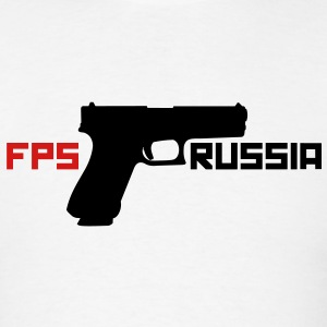 FPS Russia Gun MP T-Shirts - Men's T-Shirt