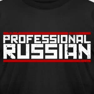 FPS Russia Logo MP T-Shirts - Men's T-Shirt by American Apparel
