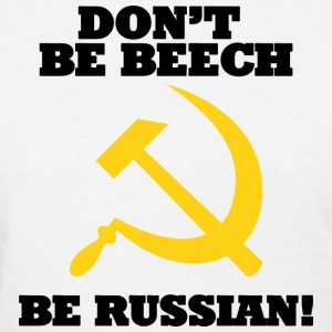 FPS Russia Don't be Beech MP Women's T-Shirts - Women's T-Shirt