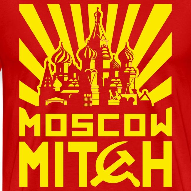 Moscow Mitch Kremlin Poster Mens Premium T-shirt