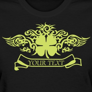 Tribal Clover Tattoo - Women's T-Shirt