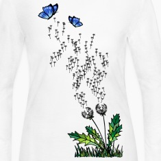 'Dandelion' Women's Long Sleeve Jersey T-Shirt