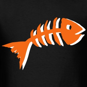 Fish Bone T-Shirts - Men's T-Shirt