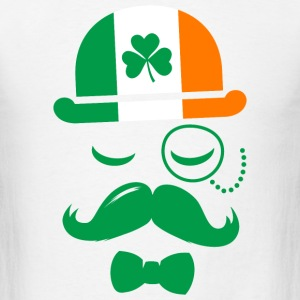 i love ireland irish shamrock St. Patrick's Day T-Shirts - Men's T-Shirt