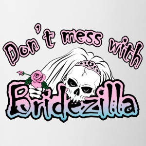 Bridezilla Skull Bottles & Mugs - Coffee/Tea Mug