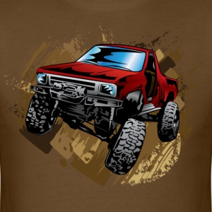 Red Rock Crawling Off-Road Truck Shirt - Men's T-Shirt