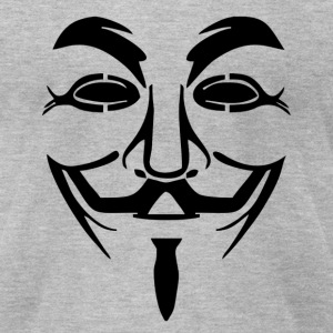 Guy Fawkes Mask - Men's T-Shirt by American Apparel