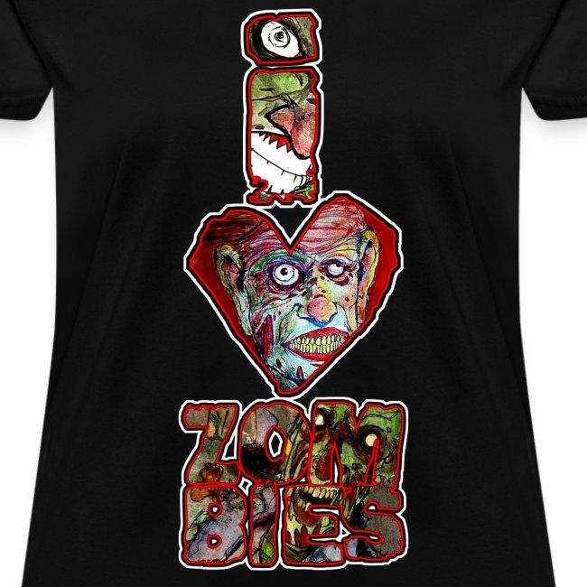 womens - love zombies vert