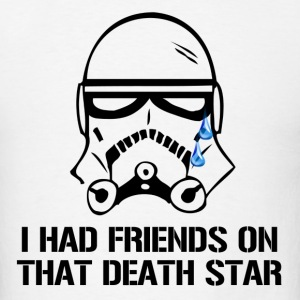 Death Star Friends - Men's T-Shirt