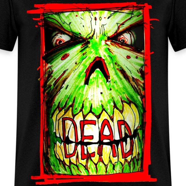 mens - dead zombie face