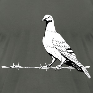 friedenstaube, Dove of Peace T-Shirts - Men's T-Shirt by American Apparel