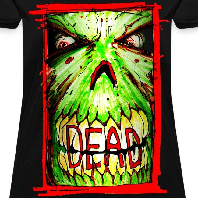 womens - dead zombie face