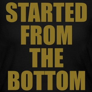 STARTED FROM THE BOTTOM. Long Sleeve Shirts - Women's Long Sleeve Jersey T-Shirt