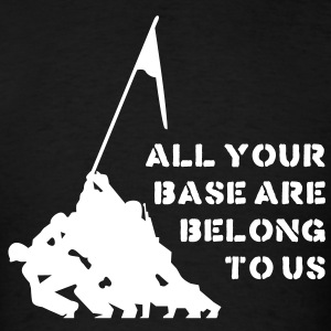 all your base are belong to us T-Shirts - Men's T-Shirt