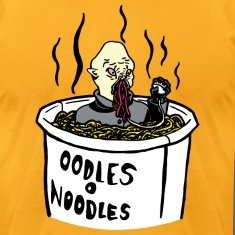 Doctor Who Ood Noodle Shirt (Male)