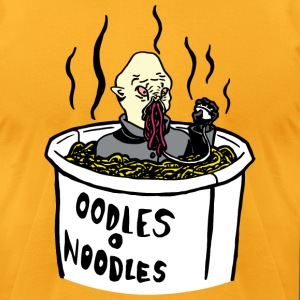 Doctor Who Ood Noodle Shirt (Male) - Men's T-Shirt by American Apparel