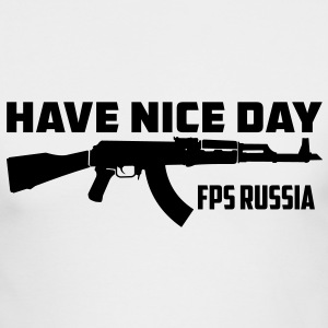 FPS Russia Have Nice Day MP Long Sleeve Shirts - Men's Long Sleeve T-Shirt by Next Level